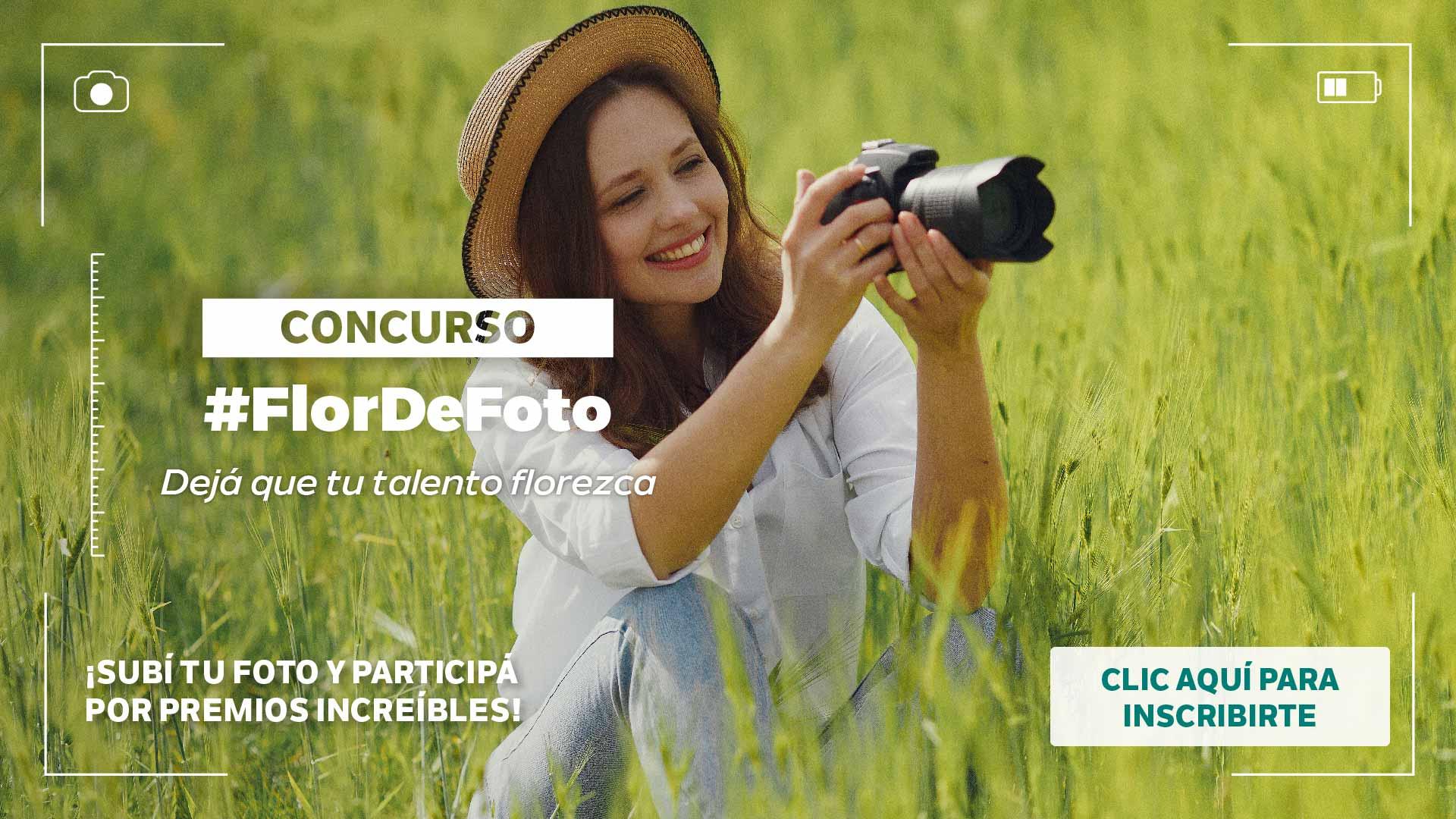 Concurso Flor de Foto